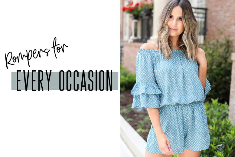 A Romper for Every Occasion