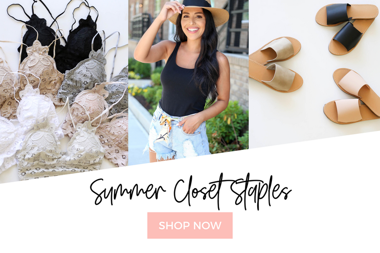Summer Closet Staples