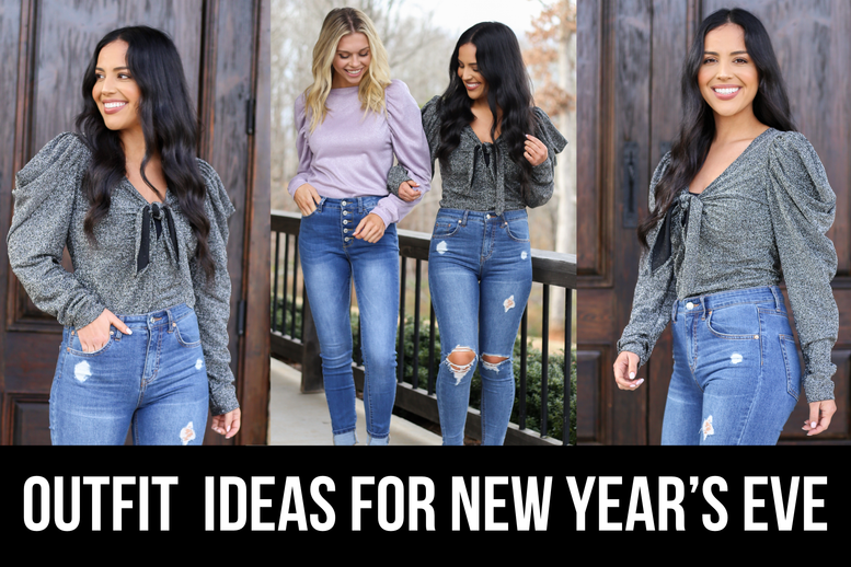 OUTFIT IDEAS FOR NEW YEAR'S EVE