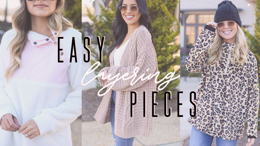 EASY & CUTE LAYERING PIECES