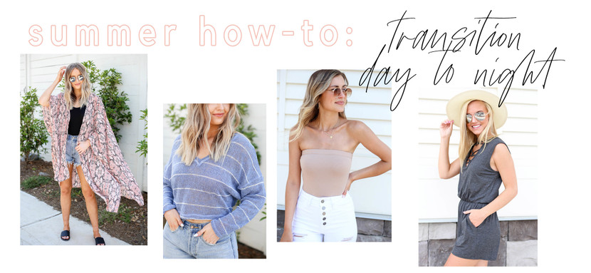 Day To Night Outfits