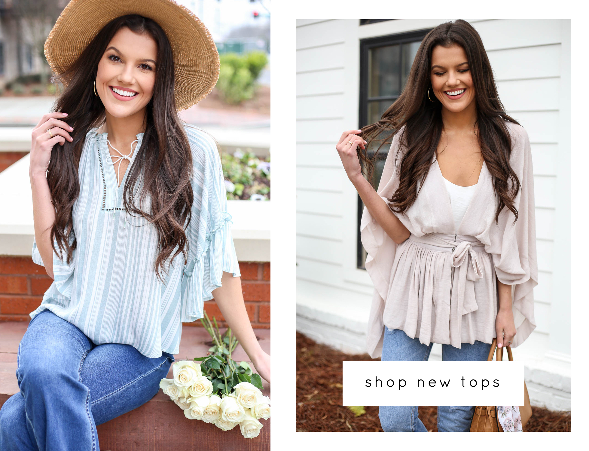 Shop New Tops, Tanks, and Sweaters. Nothing Over $49