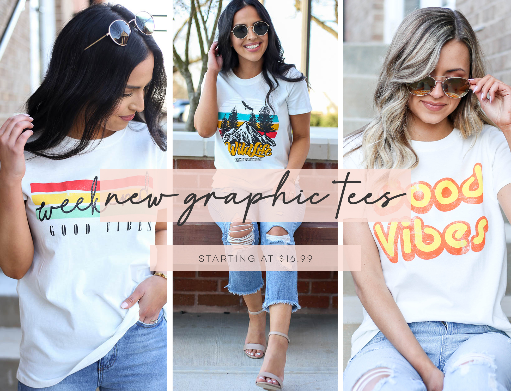 New Graphic Tees weekend good vibes, wildlife, and good vibes