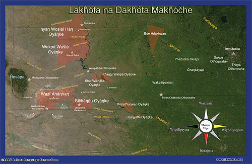 Lakota Country (map)