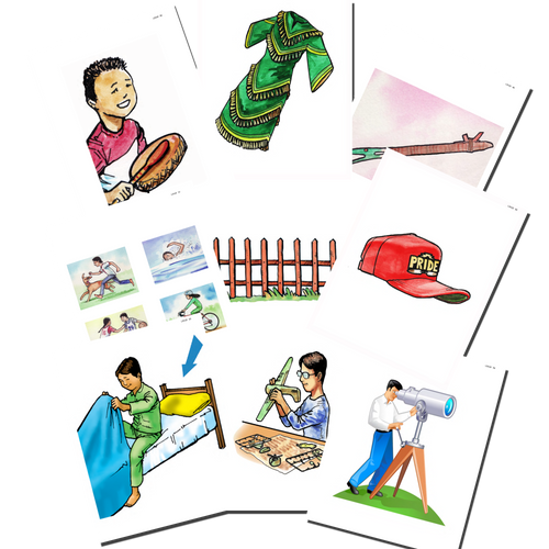 Level 3 Flashcard Set