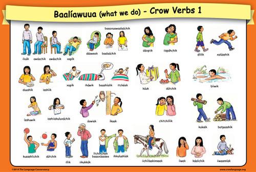 Crow Verbs 1