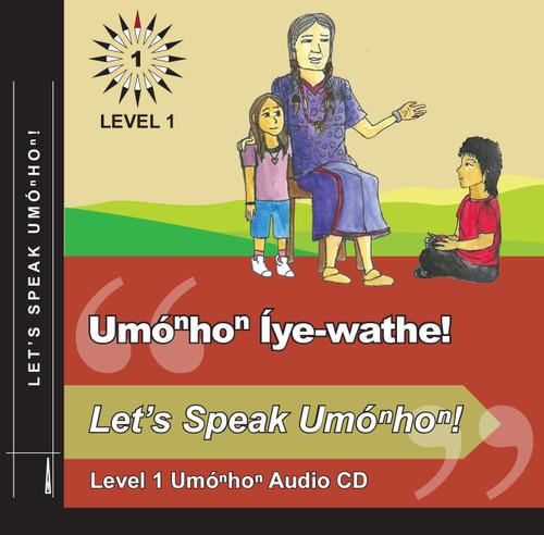 Umóⁿhoⁿ Level 1 Audio CD