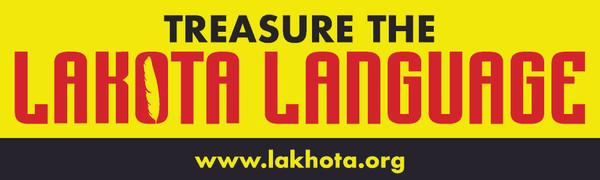Treasure the Lakota language