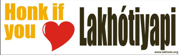 Honk if you [Love] Lakhotiyapi