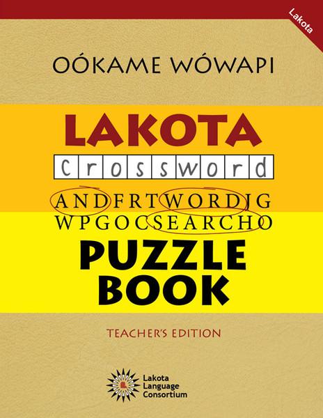 Oókame Wówapi - Lakota Puzzle Book Vol. 1 (Teacher's Edition)