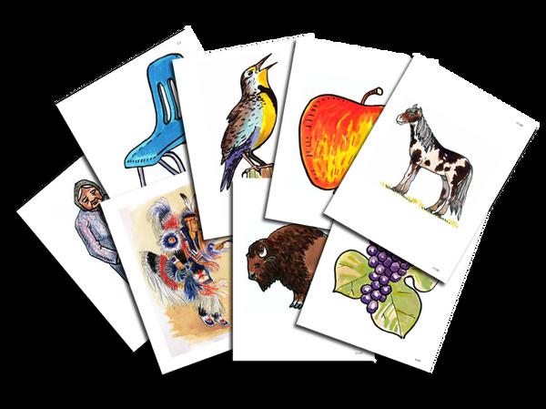 Lakota Level 1 Flashcard Set
