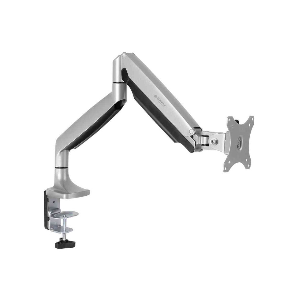 Eureka Ergonomic® Single Monitor Stand, Height Adjustable Full Motion (360) Arm Mount - ERK-MA-S01S