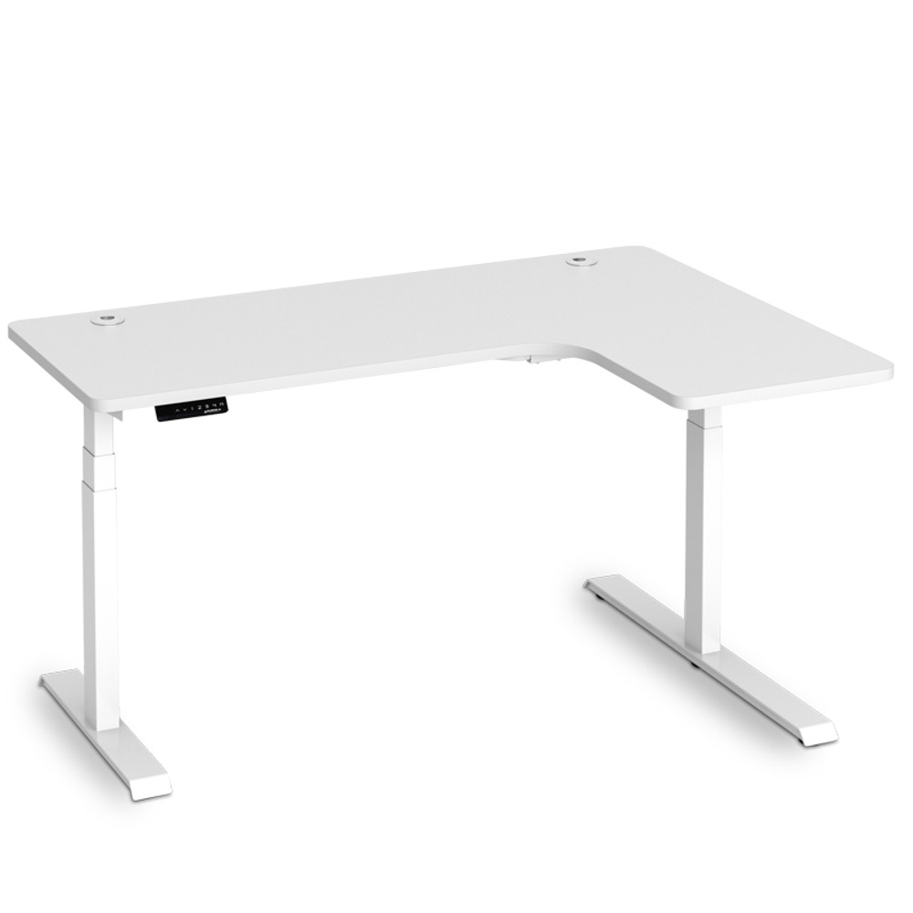 Eureka Standing Desk E60 - L Shape Desk Right Electric Height-Adjustable -