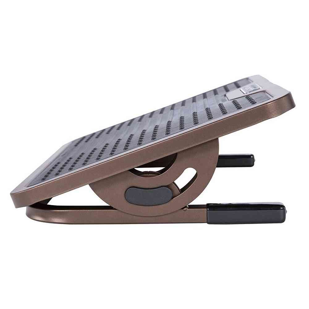 Eureka Ergonomic® Height Adjustable Under Desk Footrest, Non-Skid Massage Surface with 3 Height Positions - ERK-FR-02