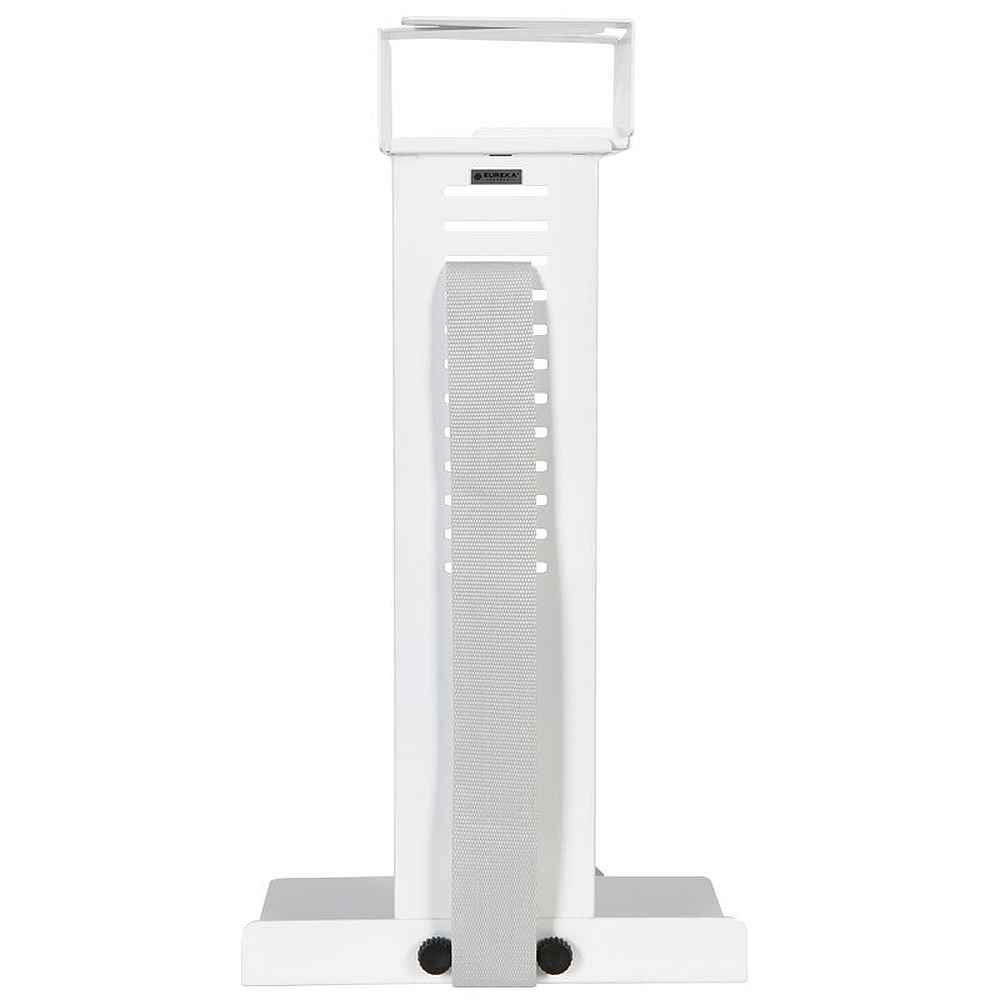 Eureka Ergonomic® Height Adjustable Heavy Duty Under Desk CPU Holder/Mount - White - ERK-CH-W