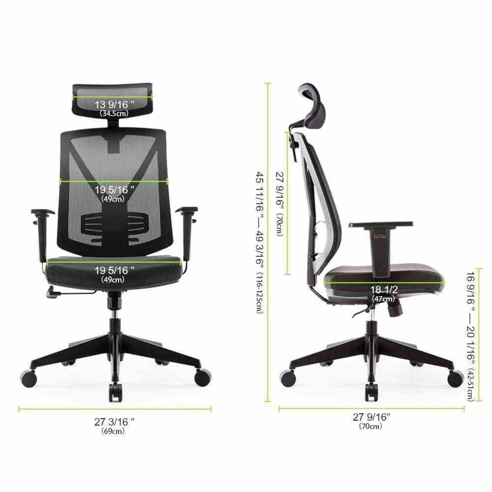 Outstanding Eureka Ergonomic High Back Executive Mesh Office Computer Desk Chair With Armrest Black Gmtry Best Dining Table And Chair Ideas Images Gmtryco
