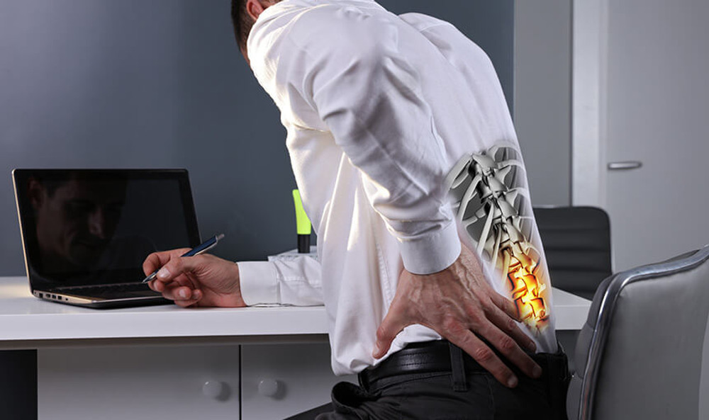 Stand Up and Relieve Back Pain