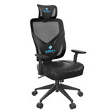 Eureka Ergonomic Home Office Gaming Computer Swivel Chair with Headrest and Lumbar Support, Adjustable Mesh Back & Height, Exclusive Ergonomic Video Game Chair, Black