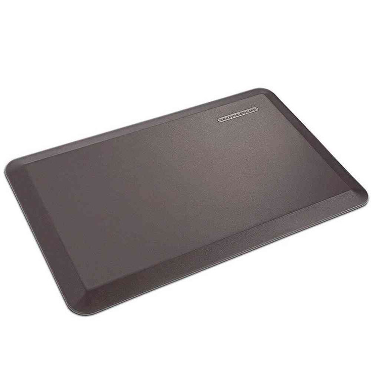 Eureka Ergonomic® Standing Desk Anti-Fatigue Comfort Mat for Home & Office - Brown - ERK-MAT-01BW
