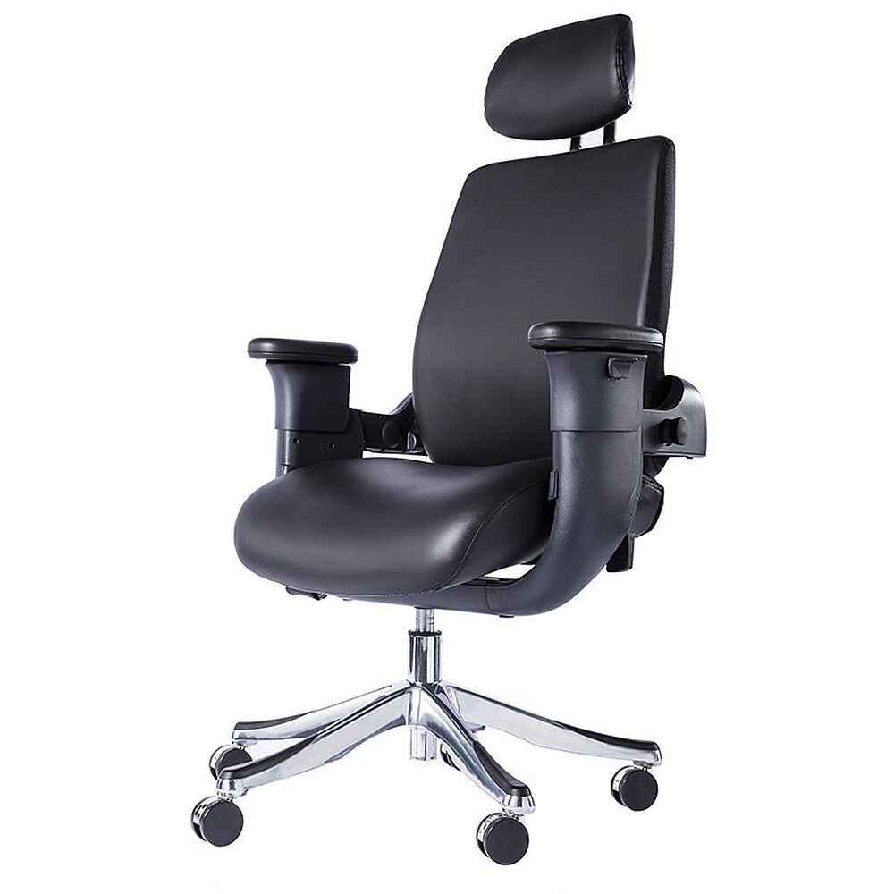Eureka Ergonomic® High-Back Executive Swivel Office Computer Desk Chair  with Armrest - Black