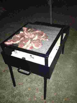 Portable Grill Pit with Grill
