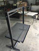 "Extreme Duty Rectangular Grill Pit, 48"" X 32"" 