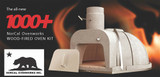 Outdoor Wood Fired Oven Kit 37 Inch Dome
