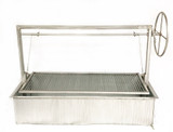 Stainless Steel Santa Maria Grill with Cart