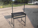 """32X18 Argentine Grill w/""""V"""" grate and Drip-pan"""