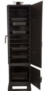 Vertical Restaurant Smoker Wood/Charcoal/Gas
