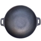 Cast Iron Wok and Stand