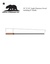Churrasco Swords 3/4 in. Angle