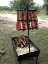 Portable Cross and Grill Pit