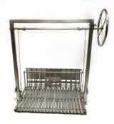 All Stainless Steel Argentine Grill Kit with Rear Brasero & No Flange