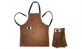 Leather NorCal Ovenworks Bear Apron and Gloves
