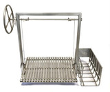 Stainless Steel Argentine Grill Kit with Side Brasero & No Flange