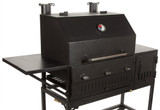 3 Burner Wood/Charcoal/Gas Patio Grill/Smoker