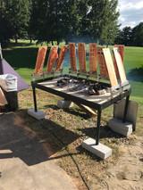 Flammlachs Cedar Plank Salmon Grill