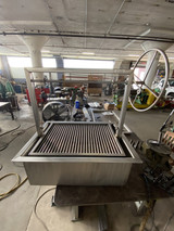 All Stainless Counter Drop-In BBQ Grill in the Santa Maria Grill Style
