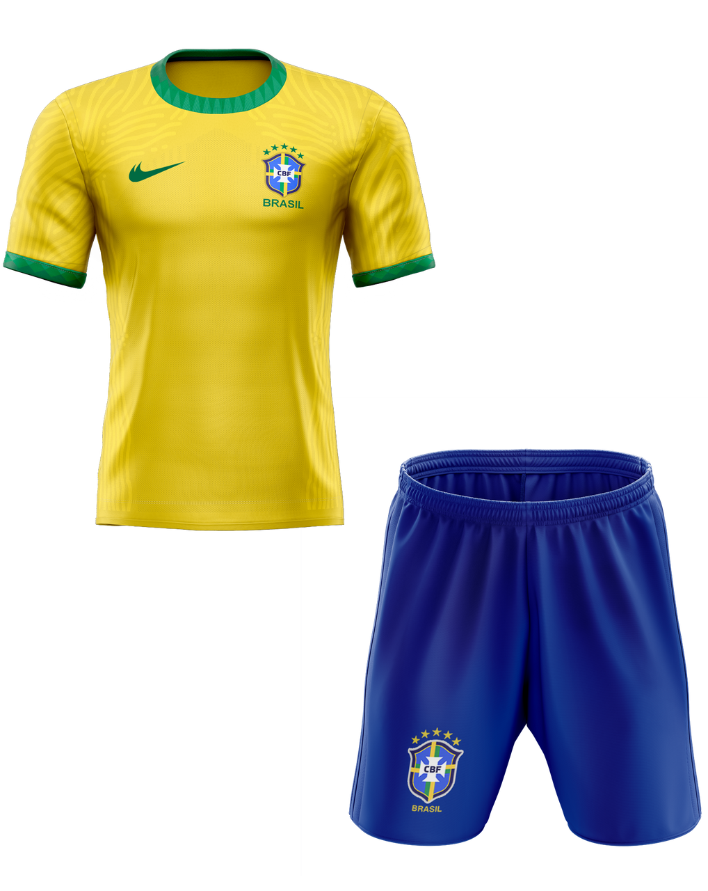 2020 Brazil Home Kids Kit With Free Name And Number Coolkitdirect