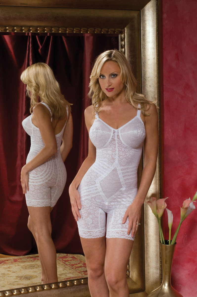 bef9d794d ... Extra Firm Shaping Full Body Shaper with Garters ...