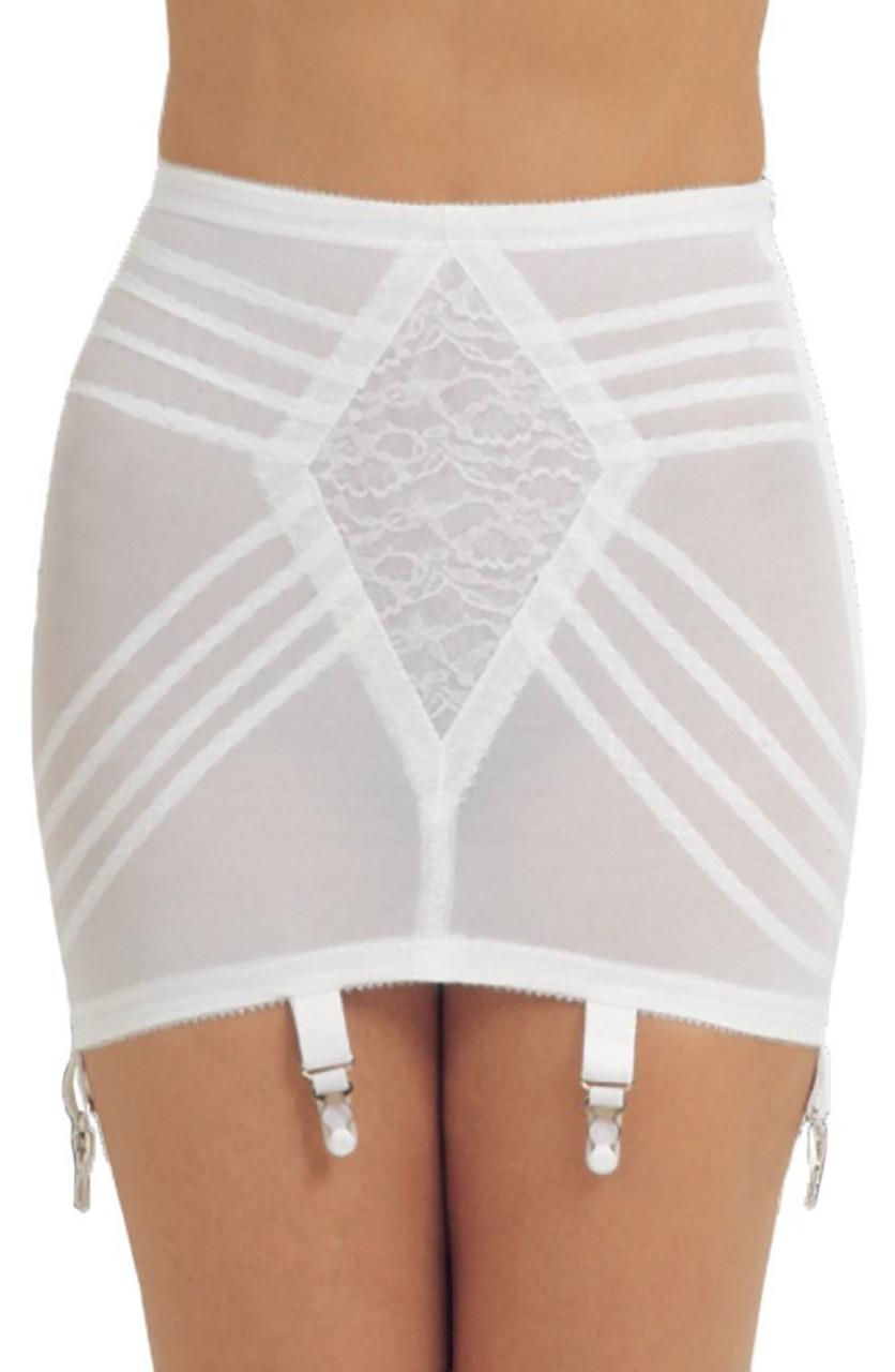 Bottomless girdles and bare bottoms