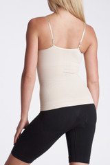 Cami shaper with built-in bra and underwire