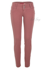 Butt Lift Pant 1119 Slate Rose