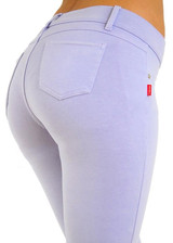 Butt Lift Pant 1118 Heather Purple
