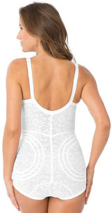 EXTRA FIRM SHAPING BODY BRIEFER WITH GARTERS
