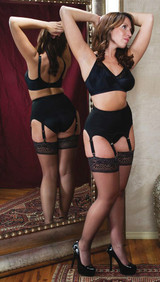 Six Strap Soft Shaping Garter Belt