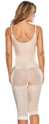 SLIMMING BRALESS BODY SHAPER WITH THIGHS SLIMMER