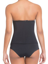 EXTRA-STRENGTH COMPRESSION CORSET SHAPER WITH LATEX