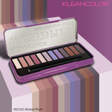 Kleancolor Wicked Plum Eyeshadow Palette